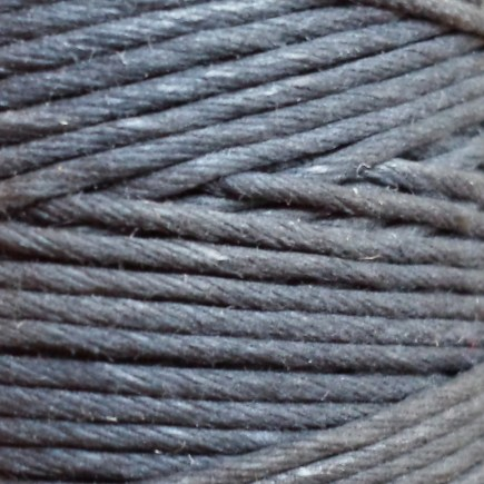 A spool of our black glazed cord.