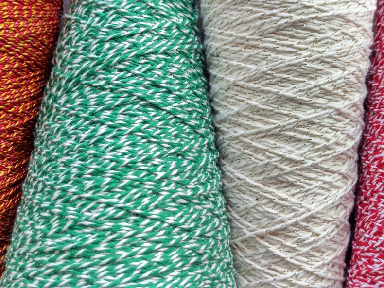 Spools of a few samplings from our new Signature Collection of custom string.