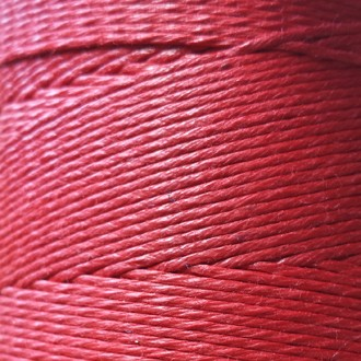 A spool of our red waxed cord.