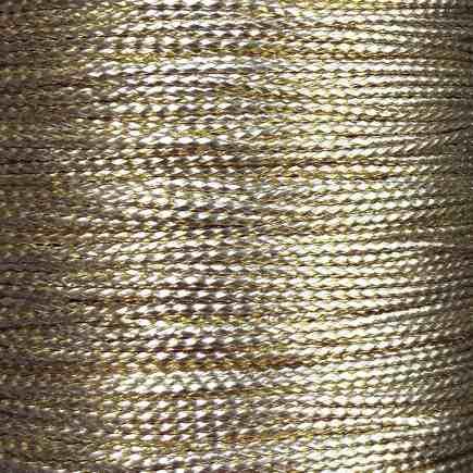 A spool of gold braid.