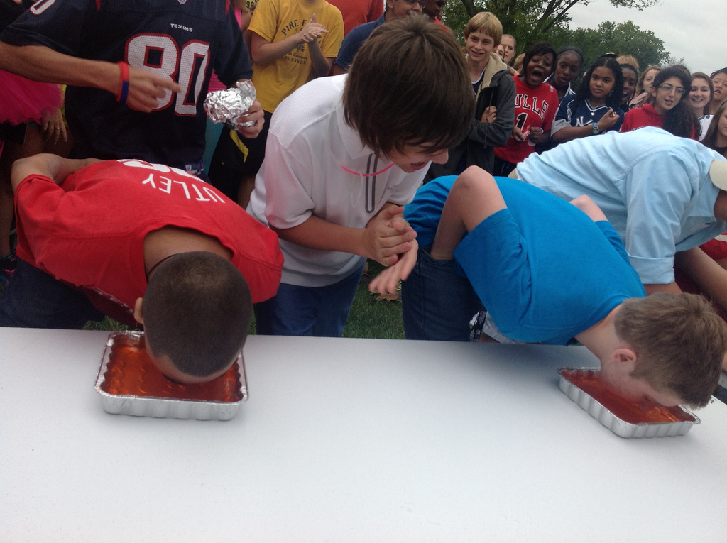 Video: Jell-O Eating Contest- Day 1
