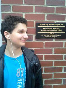 Freshman comic Cameron Stirner (photo courtesy of Stirner)
