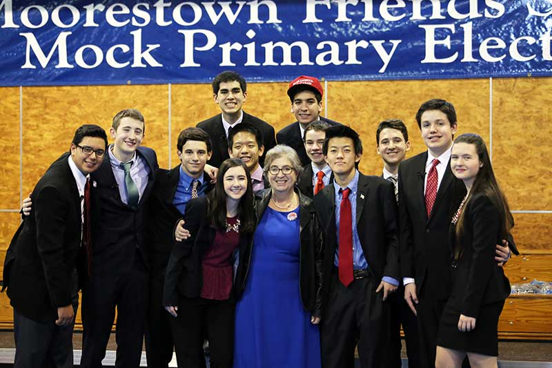 From The Primary to Election Day A Look Back at MFS's Mock Primary Election