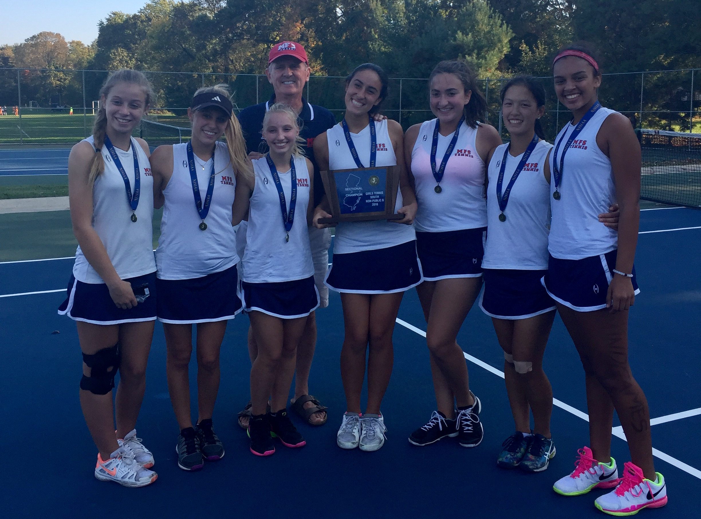 Girl's Tennis Recap 2016