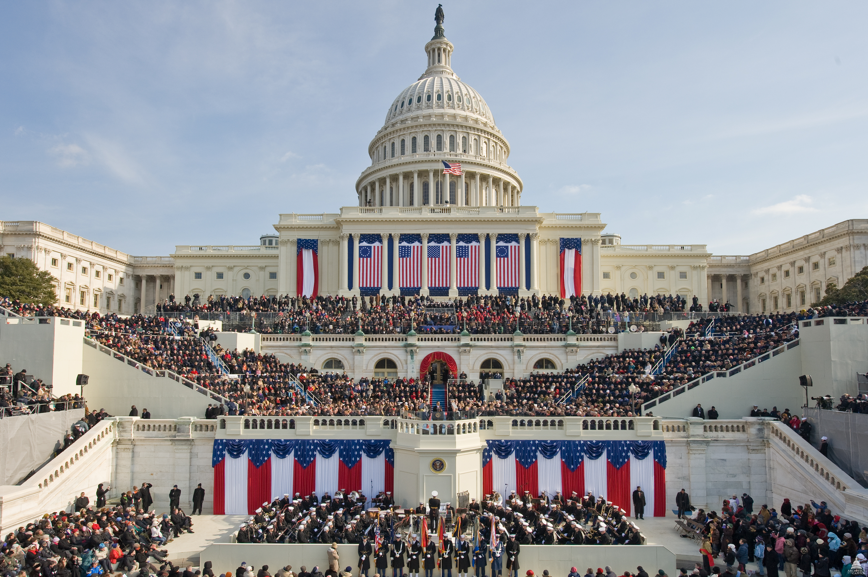 Upper School Students Get Chance to Watch Inauguration