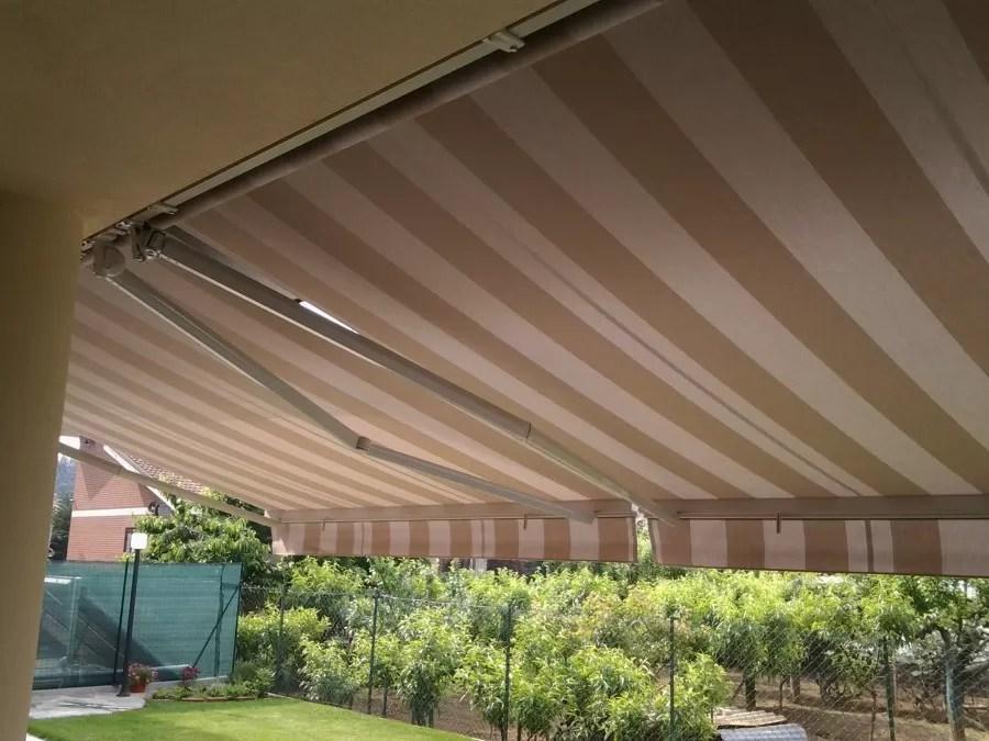 Tende per balconi e terrazze. Tenda Da Sole Su Barra Quadra Con Bracci Estensibili 300 X 200 Mf Tende Da Sole Torino