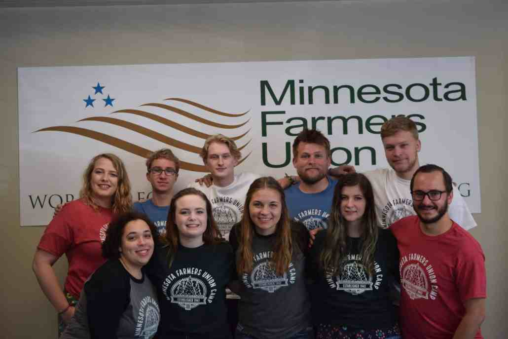 MFU Camp Staff 2019 pictured