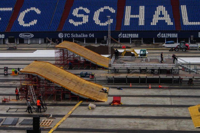 Scaffold Landing Auf Schalke 02