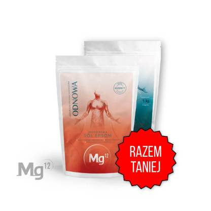 Starter: chlorek magnezu 1kg + sól epsom 1kg
