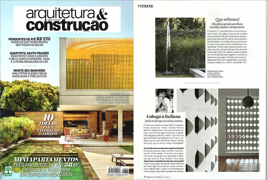 ARQUITETURA&CONSTRUÇÃO