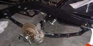 Bad rebound straps (and rear leaf springs)