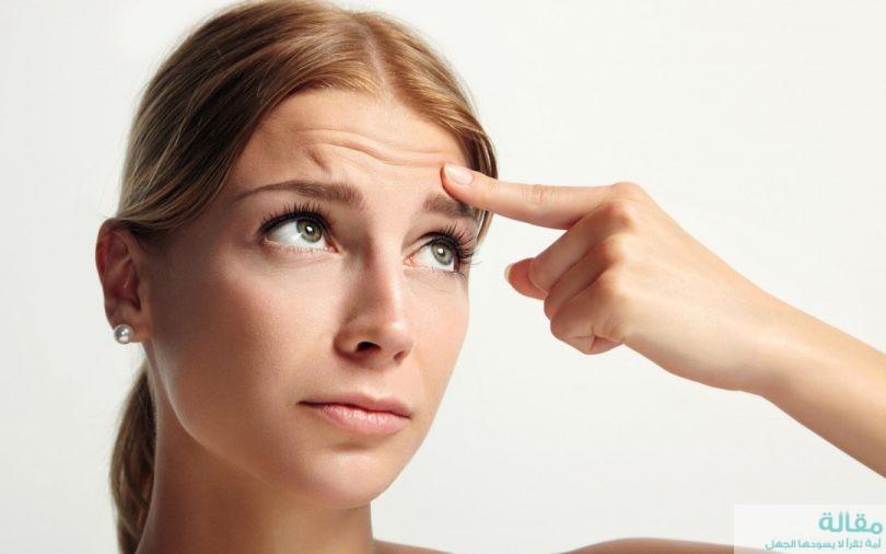 علاج الخطوط الرفيعة في الوجه
