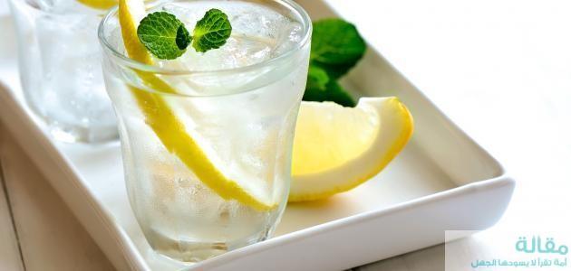 اهمية  الماء والليمون للتخسيس