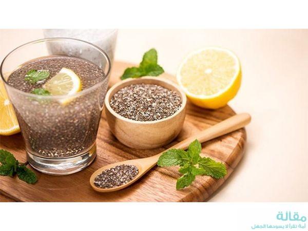 وصفات بذور الشيا التي تساعد في حرق الدهون