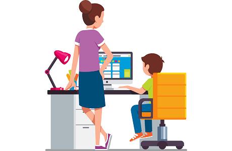 كيف تقيس تقدم طفلك أثناء التعلم الافتراضي