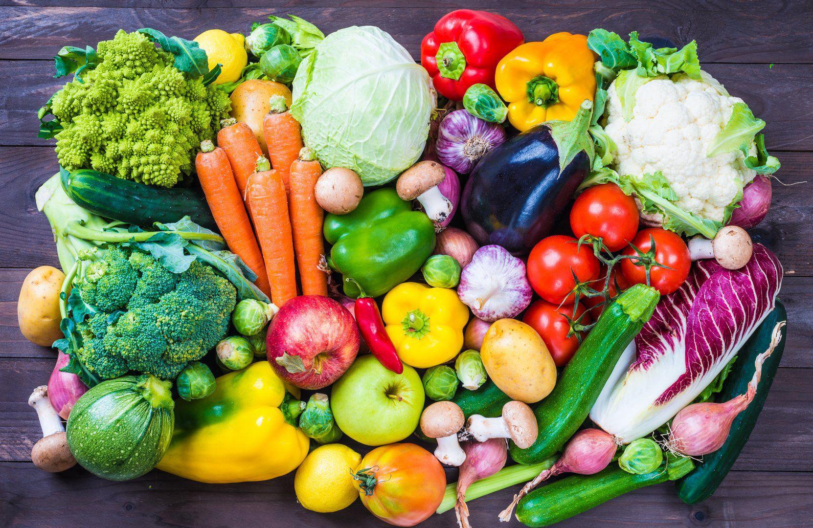 نظام غذائي مكون من 2 فواكه و 3 خضروات