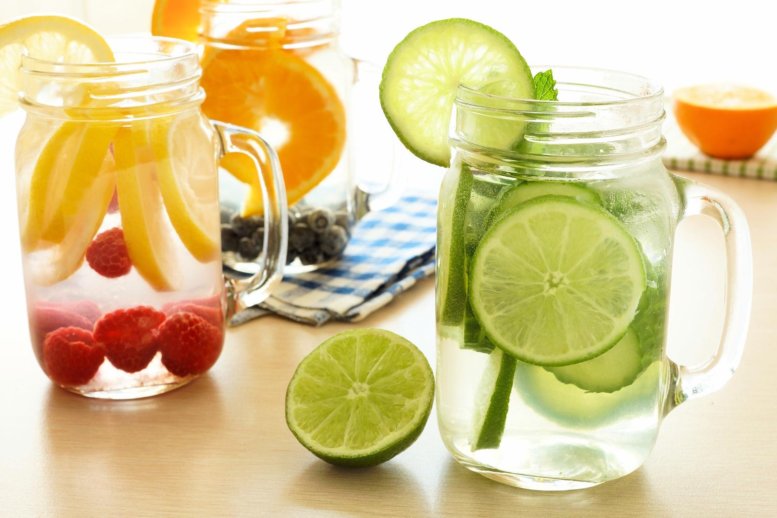 مجموعه مشروبات صيفية لإنقاص الوزن