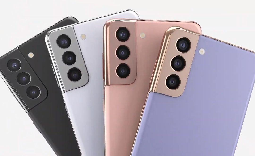 مجموعه الألوان الرسميه لهاتف Samsung Galaxy S21 FE