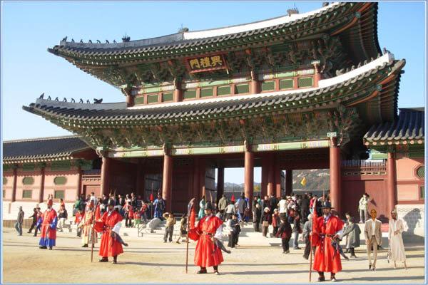Bildergebnis für gyeongbokgung palast