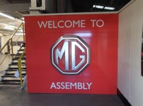 Big MG welcome