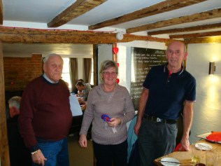 Winners Fred and Angie Vickers win for the second year running
