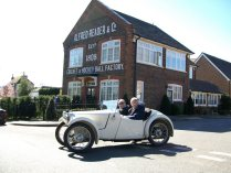 Austin 7 looking for clues in Teston