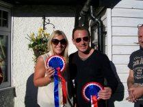Overall winners - Stuart Manser & Harriet Whatley
