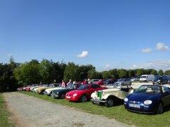 10-Heligan car line up
