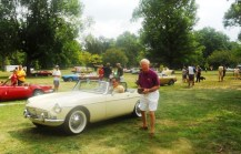 1st place '63-'67 B roadster  - '63 of William Hunter