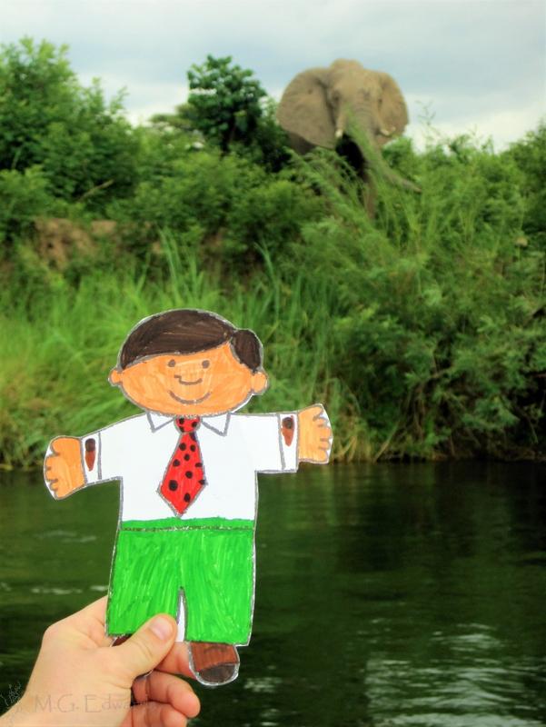 Zambia Flat Stanley