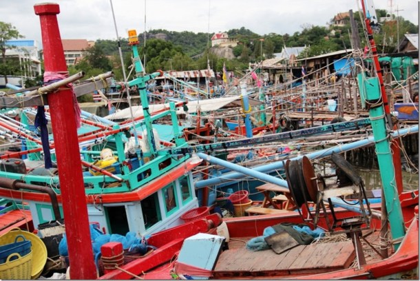 2012_09_16 Thailand Hua Hin Fishing Village (14)