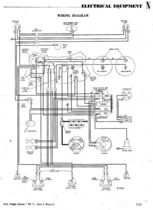 wiring diagram for 1950 TD ( just acquired) : TSeries