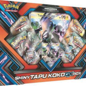 Poke Box Shiny Tapu Koko-GX