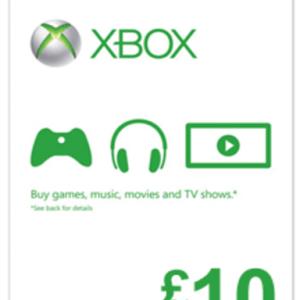 Xbox One: Xbox Live £10 (latauskoodi)