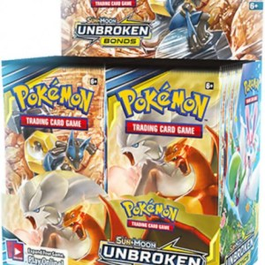 Pokemon Sun & Moon Unbroken Bonds Booster pack