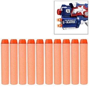 10 PCS 7.2cm EVA Soft Blaster Darts Bullets(Orange)