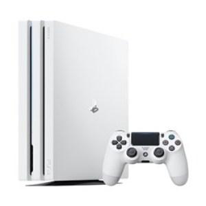 PS4: PlayStation 4 Pro 1 TB-pelikonsoli (Valkoinen)
