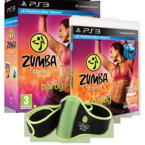 PS3: Zumba Fitness (Move) (käytetty)