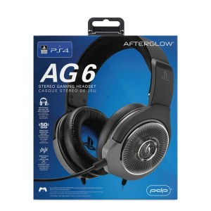 PS4: Afterglow AG6 Wired Headset for PS4 Licensed