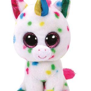 TY Beanie Boos HARMONIE - speckled unicorn reg