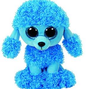 TY Beanie Boos MANDY - Blue poodle reg