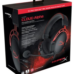 HyperX Cloud Alpha pelikuulokkeet