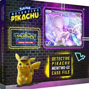 Pokemon Detective pikachu Mewtwo-GX Case File