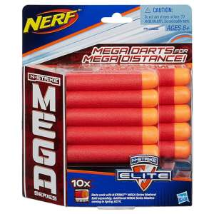 NERF - N-Strike Elite Refill Mega 10 Darts 2017