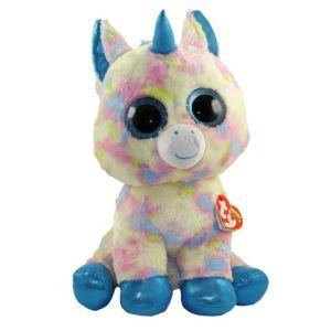 TY Beanie Boos BLITZ - blue unicorn med