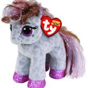 TY Beanie Boos CINNAMON - spotted pony reg