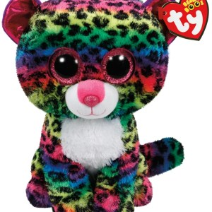 TY Beanie Boos DOTTY - multicolor leopard large