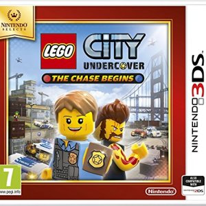 3DS: LEGO City Undercover The Chase Begins Selects