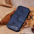 Golden Phoenix: Blue Leather Tablet case /Case