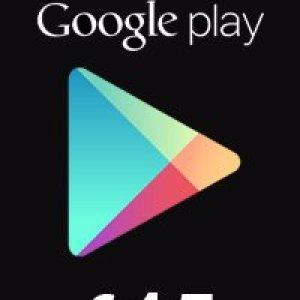 PC: Google Play Gift Card 15 EUR (latauskoodi)